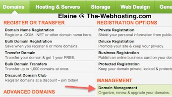Change Godaddy NameServer Domain Management