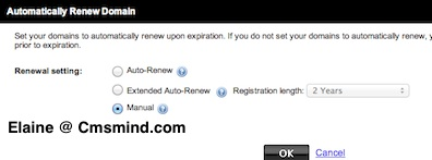 Godaddy Domain Name Auto Renew Manual