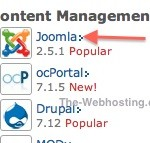 Bluehost Select Content Management - Joomla 2.5.1