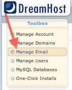 Dreamhost Tutorial - Manage Email